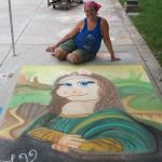 Me And Piggy by Chalk-N-Awe-Art