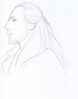 Qui-Gon Jinn sketch by cillabub