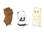 We Bare Bears by Artist-squared
