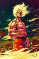 Go Hard or GoKU by raging-akujiki