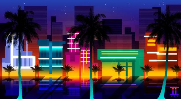 Ocean Drive by Ilona-the-Sinister