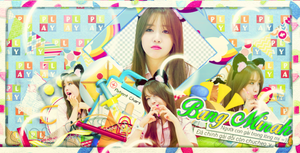 [ SHARE PSD ] Bang Minah Cover by Khangmythu