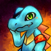 Vagus the Totodile by Haychel