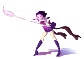Sailor Saturn by snarkies
