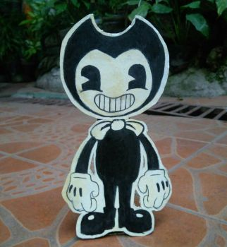 Bendy Cutout by SashaArtheart