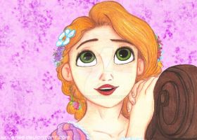 Rapunzel from Big Four Collage by Laven96
