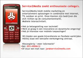 Poster Service2Media mobile. by Exquision