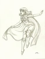 Supergirl New 52 Commission by em-scribbles