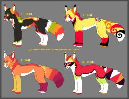 Complicated adopt bunch 3 Hawaii Special by ThatsRawrtasticxD