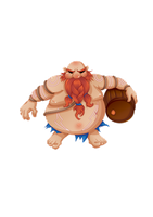 Fanart Lol - Gragas by Val-eithel