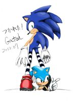 Sonic Brothers by Gatoh