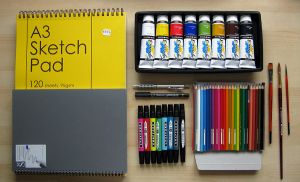 My New Art Materials by jfleck