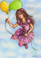 +Lire in the sky with balloons+ by marixon