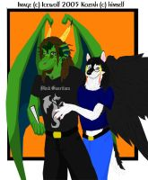 Koz and Me by Wolfbird