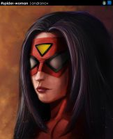 Spider-woman by ACowEatsGrass