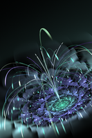 Floral Fountain by CMWVisualArts