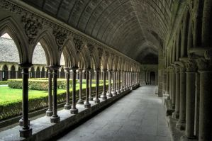 A day at Mont-Saint-Michel XI by kakobrutus