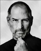 Steve Jobs by levialy