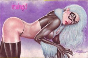 BLACK CAT by JUN DE FELIPE (07132013) by rodelsm21
