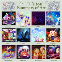PhuiJL's 2011 Summary of Art by PhuiJL