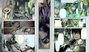 DGM manga coloring chapter 203 by MeryChess