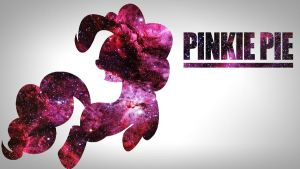 Pinkie Pie Space Wallpaper by Noahlankford