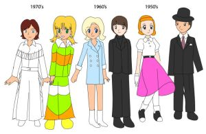 Fashion By Decade by CrystalClair