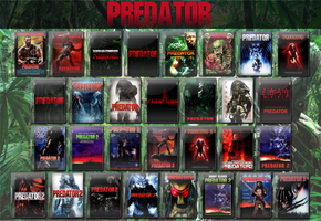 Original Predator Movie Icon Collection 1988-1990 by WimboJallis121