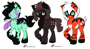 My little poopy adoptables by PlaguePuppet