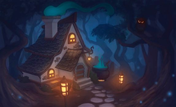 Witch house by nastyarisa