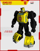 MINIBOT BUMBLEBEE by F-for-feasant-design