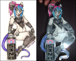 Sina Full-Body Badge by Roum