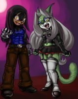 Psycho Scarz and Minta by elazuls-core