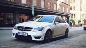 Mercedes-Benz C63 AMG by ShadowPhotography