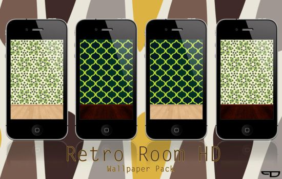 Retro Room HD Wallpaper Pack by PhilDesire