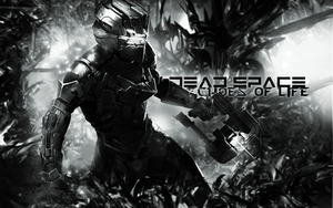 Dead Space is so amazing in BW by echosoflife