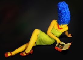 Marge Simpson by fagAndKittenCo