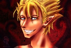 Hiruma - Commander from Hell by angelinoshi