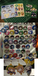 Stickers, Buttons, and Charms by khiro