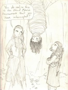The Desolation of Kili's Dignity by Hasami-hime