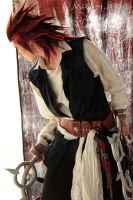 Axel Pirate ofThe Caribbean cosplay Kingdom Hearts by MischievousBoyAilime