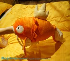 Omnom Magikarp Plush by Wolflessnight