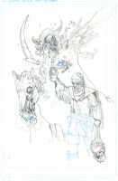 Hawken, Tim and Ben truman@ pinup pencils by MANSYC