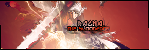 Ragna The Bloodedge Signature by RisingDeadSoul