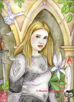 Joan of Arc by Maria-van-Bruggen
