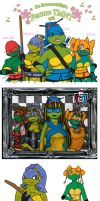 TMNT Femme Quilt by wachey