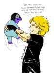 Chibi Blueberry and Jace! by RoItsSomething