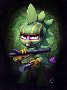 Kick-Ass Spike - Commission by Tsitra360