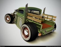 super deformed ford 28   3 by xtrm3d