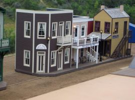 Stock 279 - Old Timey Town by pink-stock